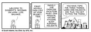Work Life Balance Cartoon