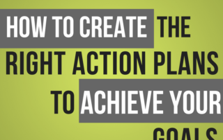How to Create Right Action Plans