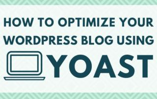 How to Optimize WordPress Blog Using Yoast