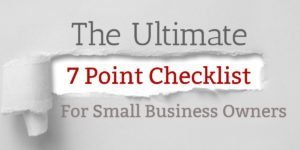 Hiring Your Dream Team – The Ultimate 7 Point Checklist for Small Business Owners